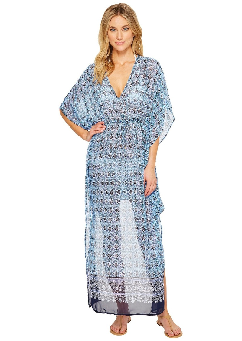 Tika Tiles Engineered Caftan Cover-Up