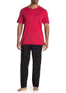 Tommy Bahama Tiny Trees T-Shirt & Pants Pajama Set