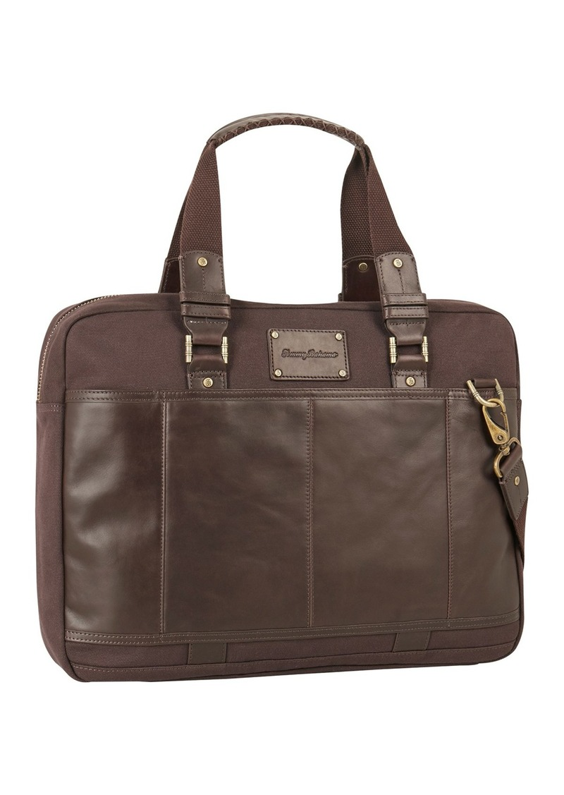 "Tommy Bahama Tobago 17"" Briefcase"