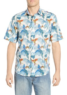 Tommy Bahama 24 Parrot Fronds Classic Fit Sport Shirt