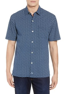 Tommy Bahama A-Fish-ianado Cotton & Silk Camp Shirt