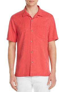 Tommy Bahama Al Fresco Tropics Short-Sleeve Classic Fit Jacquard Shirt