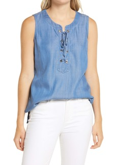 Tommy Bahama All Day Chambray Top