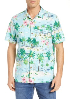 Tommy Bahama Aloha Surf Silk Blend Camp Shirt