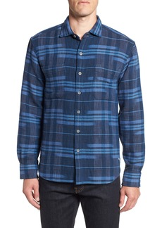 Tommy Bahama Amparo Plaid Sport Shirt
