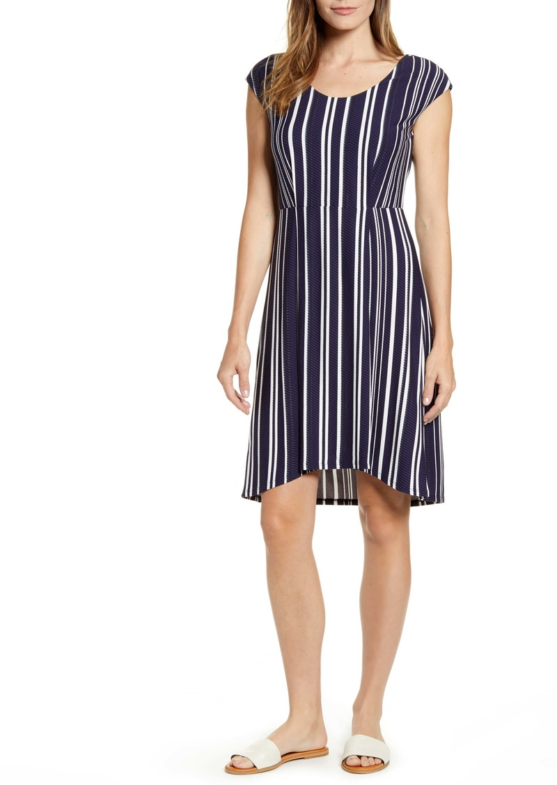 Tommy Bahama Anoche Stripe A-Line Dress