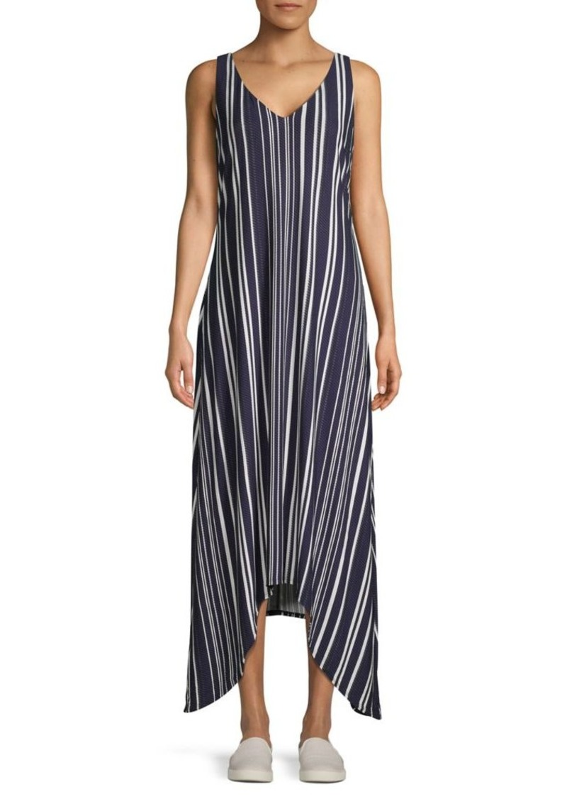 Tommy Bahama Anoche Striped Maxi Dress