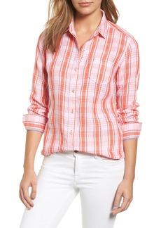 Tommy Bahama Athena Plaid Linen Shirt