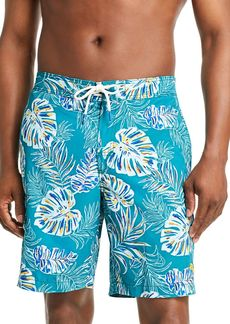 Tommy Bahama Baja Canyon Leaf-Print Swim Trunks