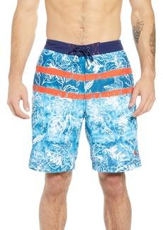 Tommy Bahama Baja Mar Batik Print Board Shorts