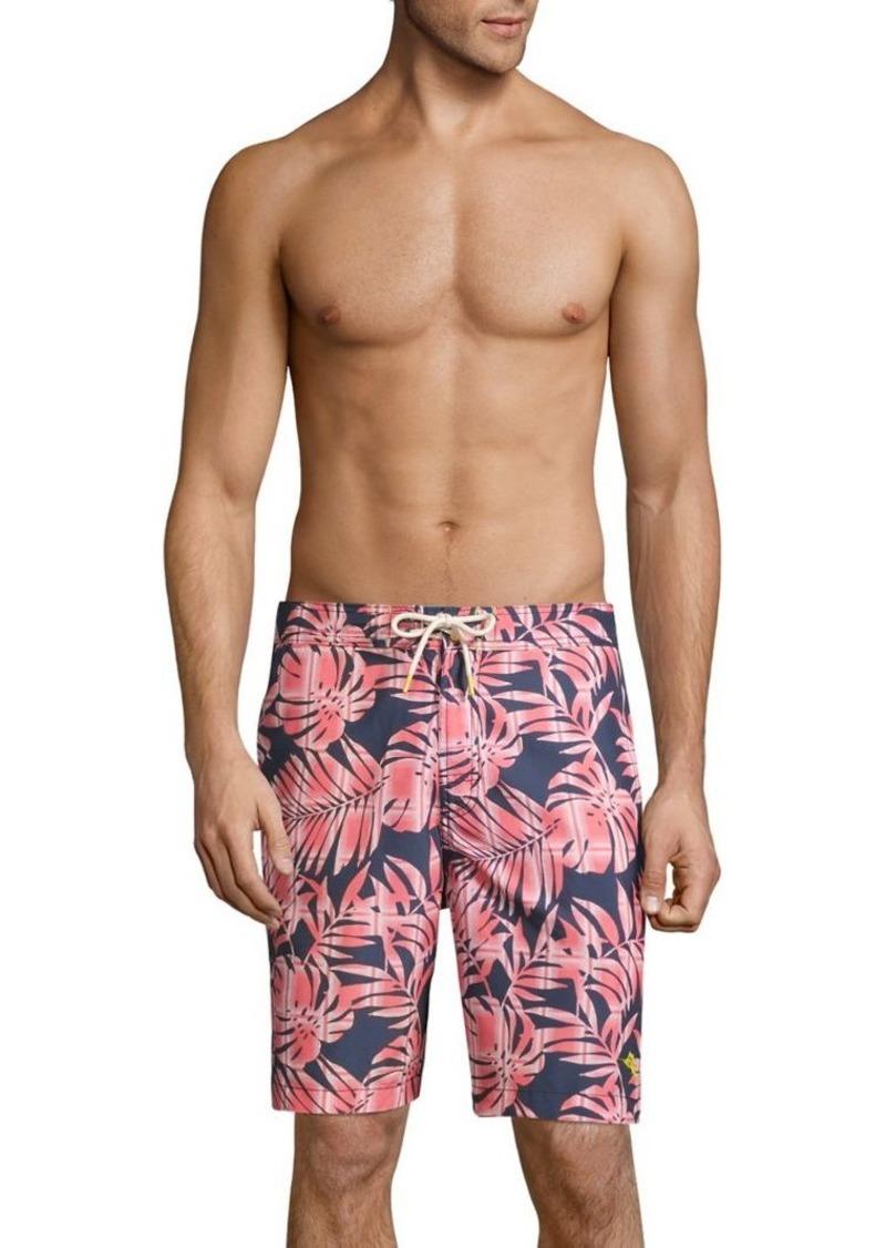 Tommy Bahama Baja Palm Del Plaid Boardshorts
