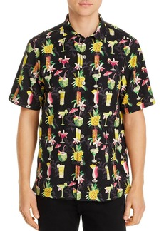 Tommy Bahama Bartenders Choice Regular Fit Short-Sleeve Silk Shirt