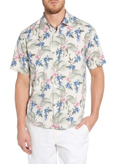 Tommy Bahama Basilica Blooms Classic Fit Print Sport Shirt