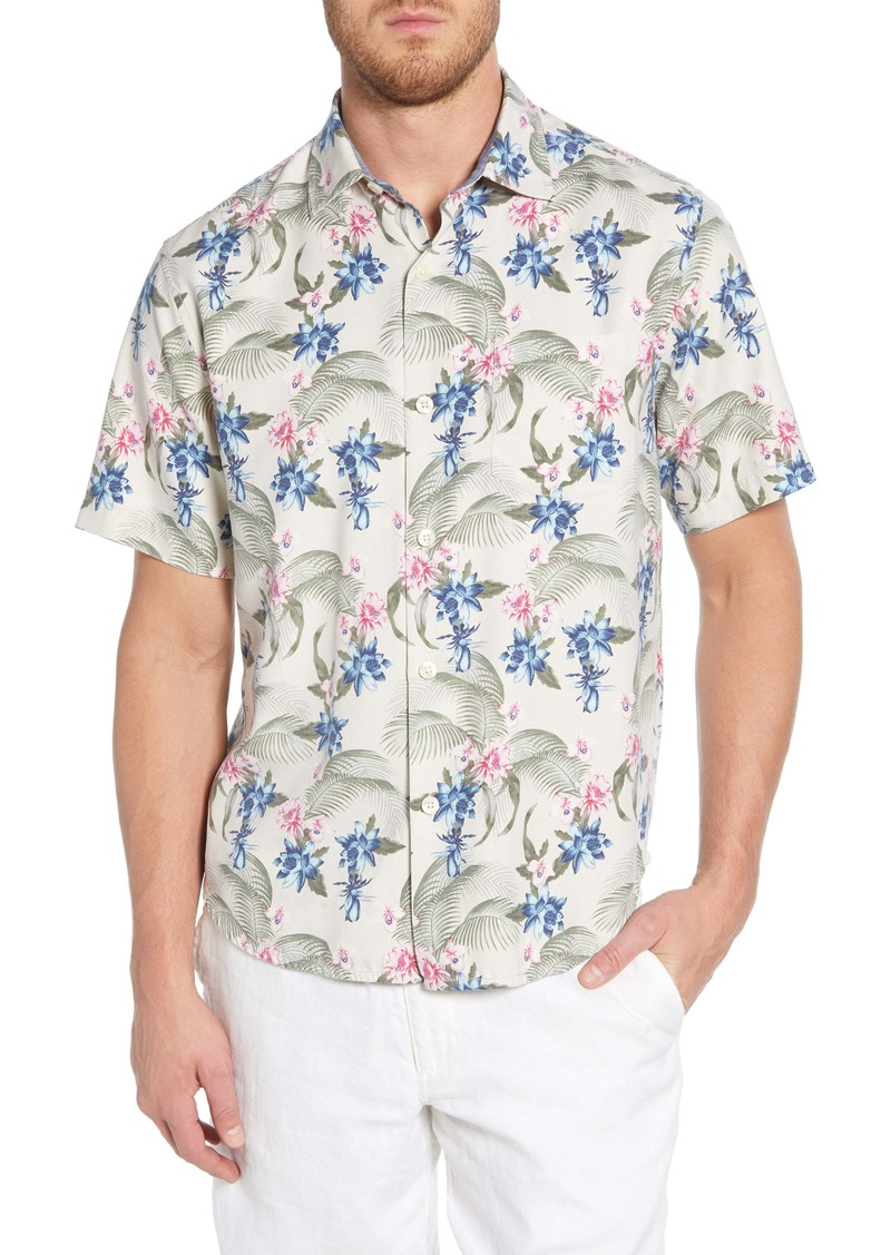 Tommy Bahama Basilica Blooms Classic Fit Print Shirt