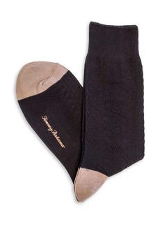 Tommy Bahama Basket Weave Socks