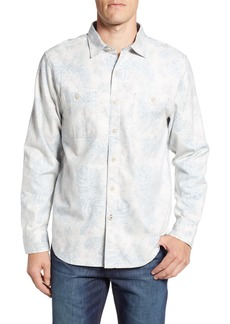 Tommy Bahama Beach Palms Long Sleeve Flannel Sport Shirt