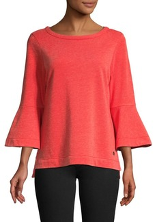 Tommy Bahama Bell-Sleeve Cotton Blend Top