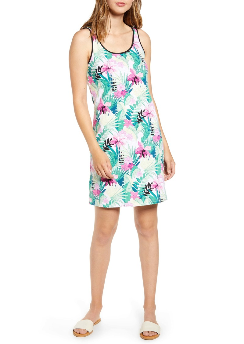 Tommy Bahama Bella Blossoms Cotton Blend Tank Dress