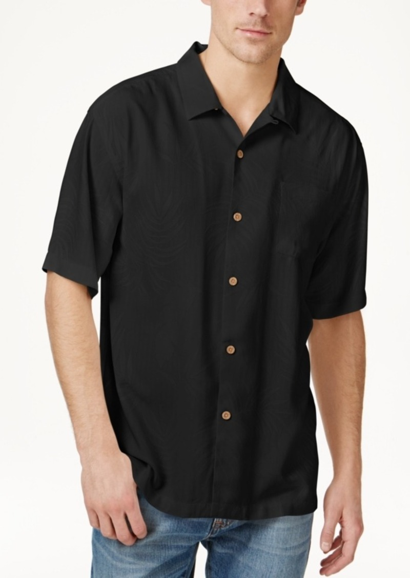 Tommy Bahama Big and Tall Men's 100% Silk Tiki Palms Short-Sleeve Shirt, A Macy's Exclusive