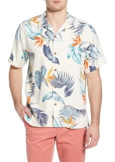 Tommy Bahama Bird's Eye View Tropical Silk Camp Shirt