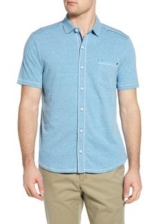 Tommy Bahama Bodega Cove Knit Short Sleeve Button-Up Shirt