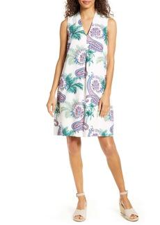 Tommy Bahama Bombaisley Print Shift Dress