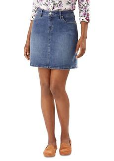 Tommy Bahama Boracay Indigo Jean Skirt in Medium Ocean Wash