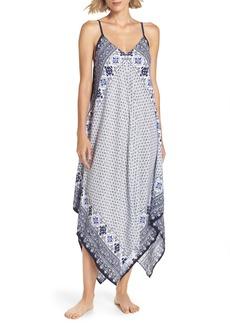 Tommy Bahama Border Print Cover-Up Maxi Dress
