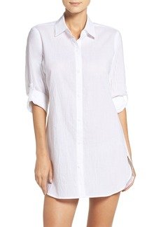 Tommy Bahama Boyfriend Shirt Cover-Up