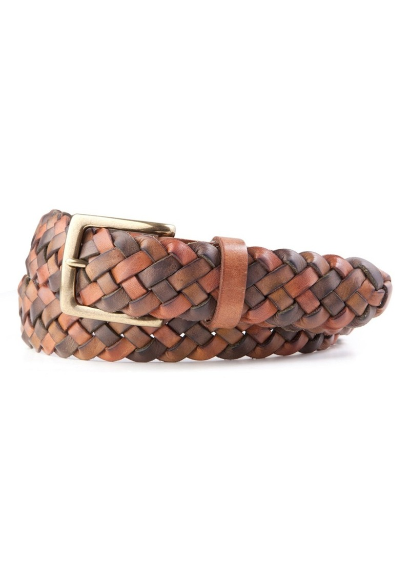 Tommy Bahama Braided Leather Belt