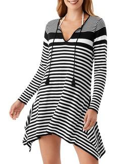 Tommy Bahama Breaker Bay Striped Asymmetric Dress