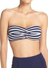 Tommy Bahama Breton Stripe Bandeau Bikini Top
