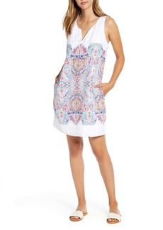 Tommy Bahama Brilliant Bazaar Linen Shift Dress