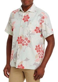 Tommy Bahama Burma Botanical Regular Fit Short-Sleeve Shirt