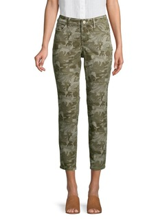 Tommy Bahama Camouflage Cotton Blend Cropped Pants