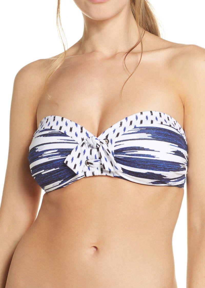 Tommy Bahama Canyon Sky Grommet Bandeau Bikini Top