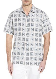 Tommy Bahama Casa de Quatro Silk Camp Shirt