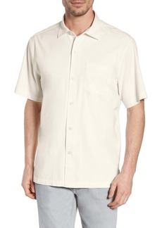 Tommy Bahama Catalina Stretch Silk Blend Camp Shirt