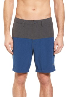 Tommy Bahama Cayman Block & Roll Hybrid Swim Shorts