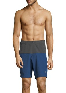 Tommy Bahama Cayman Block and Roll Hybrid Boardshorts