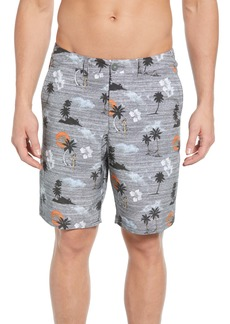 Tommy Bahama Cayman Hula Sunset Swim Trunks