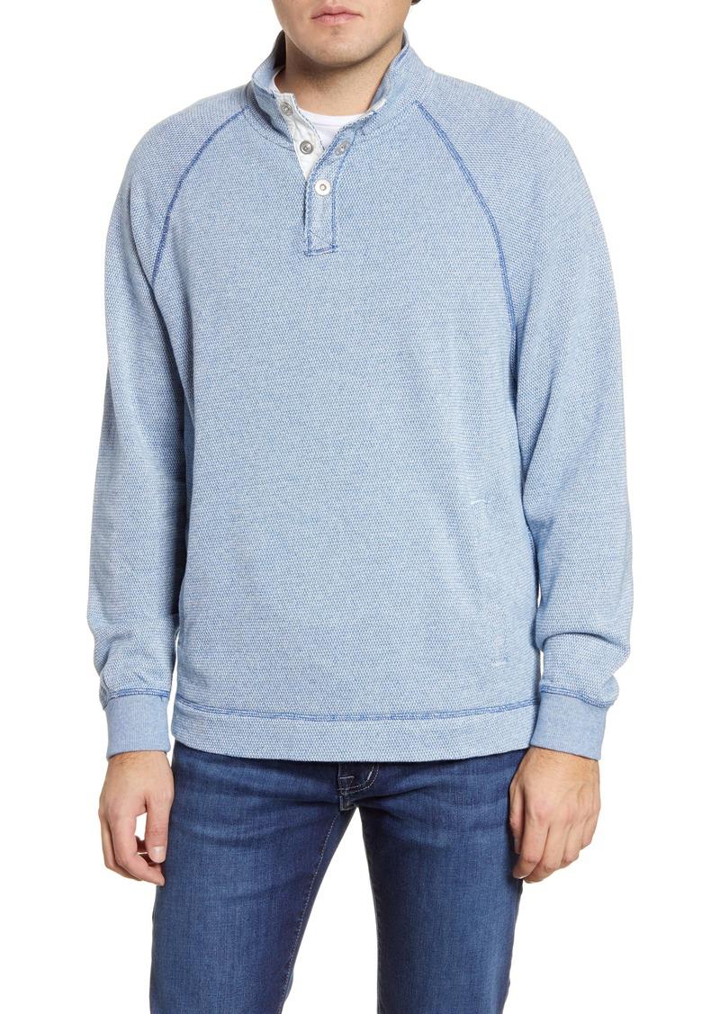 Tommy Bahama Cedar Springs Mock Neck Pullover