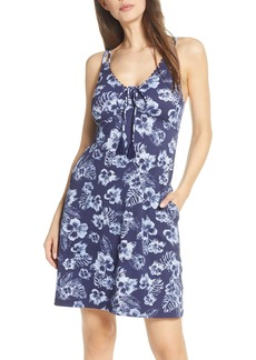 Tommy Bahama Chambray Blossom Cover-Up Dress