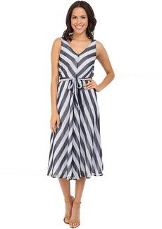 Tommy Bahama Chateau Stripe Midi Dress