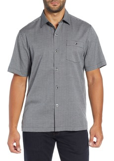Tommy Bahama Check-in-the-Tropics Silk Blend Camp Shirt