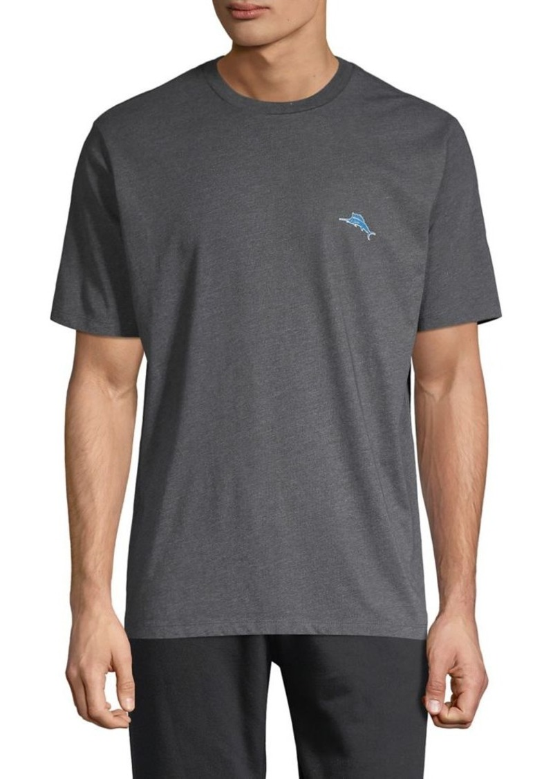 Tommy Bahama Classic-Fit Graphic Play Cotton-Blend Tee