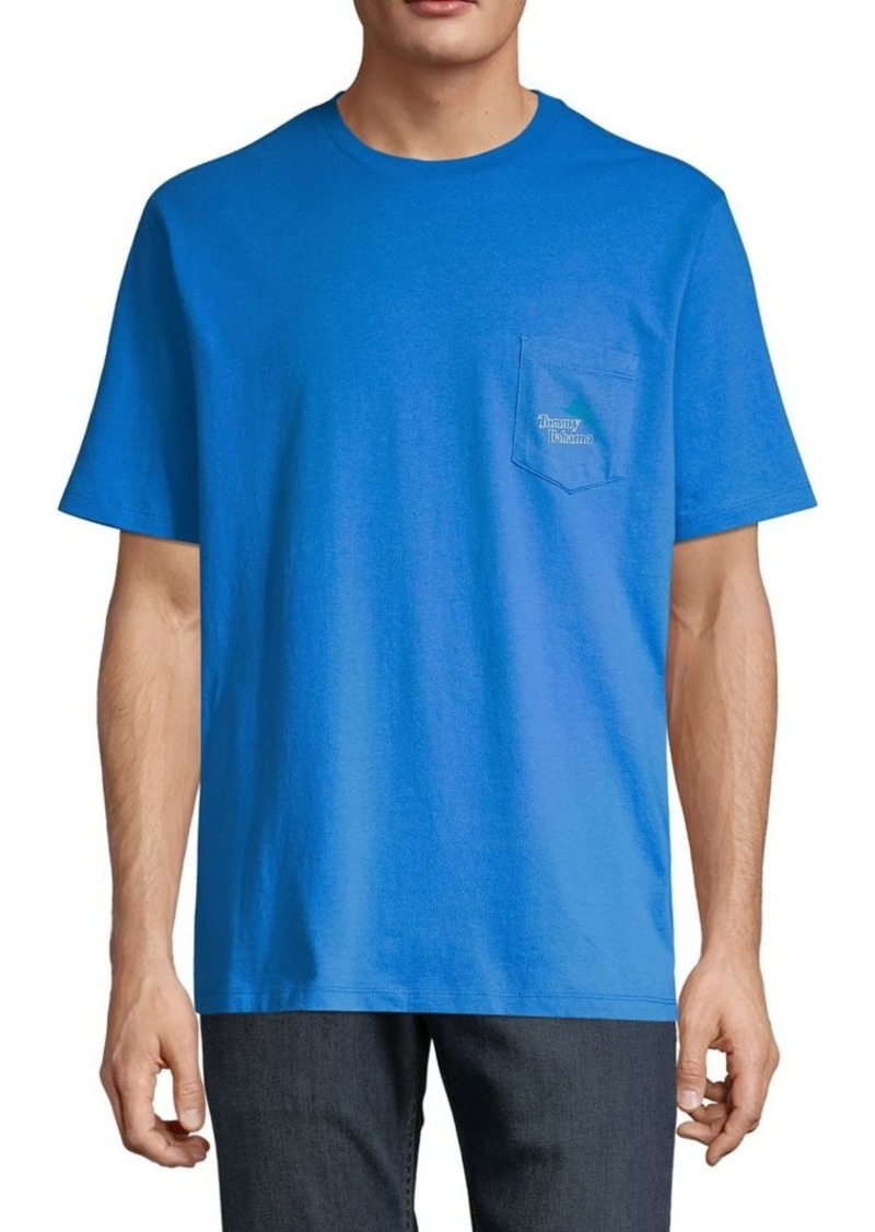 Tommy Bahama Classic-Fit You Got Hacked Cotton Tee