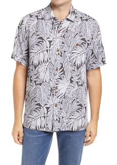 Tommy Bahama Coconut Point Fronds Tropical Short Sleeve Button-Up Shirt