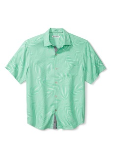 Tommy Bahama Coconut Point Jacquard Short Sleeve Button-Up Shirt
