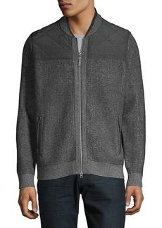 Tommy Bahama Cordillero Bomber Jacket Sweater